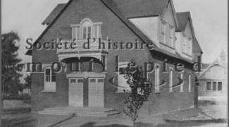 Old School House, photo probably before 1897