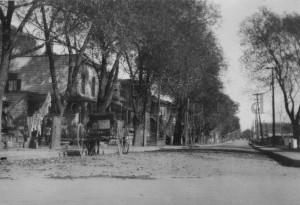 L'avenue Saint-Denis en 1919 (Source SHM)